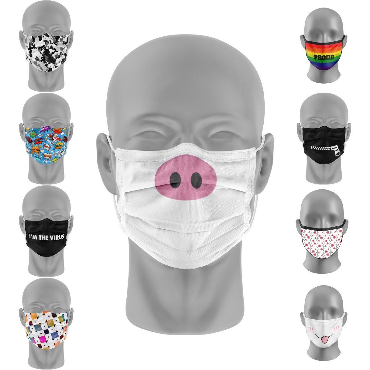 Creëer je eigen herbruikbare (mond)maskers incl. UPDATE