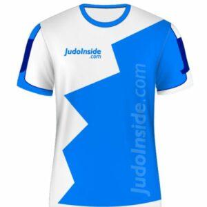 JudoInside.com shirt Blue-White