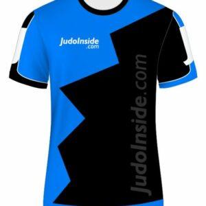 JudoInside.com shirt Black Blue