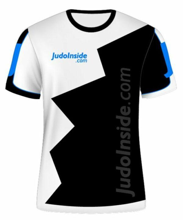 JudoInside.com shirt Black-White