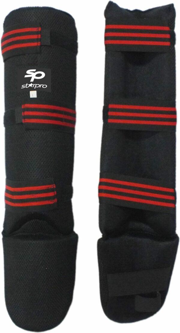 Scheen/wreefbeschermers hydraflow Starpro | zwart