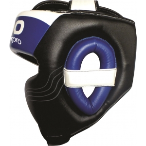 Hoofdbeschermer (head guard) Starpro S90 | zwart-wit-blauw
