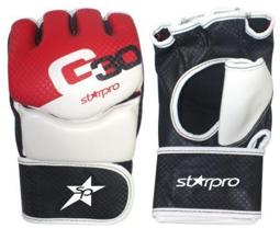 MMA-handschoen Starpro G30 | rood-zwart-wit