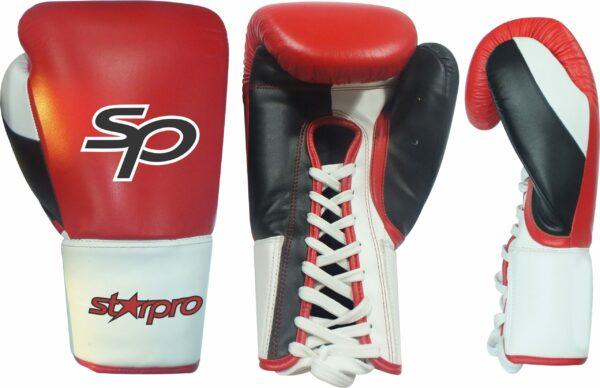"Pro Fight lace Gloves ""Layered Foam"" 14 oz"
