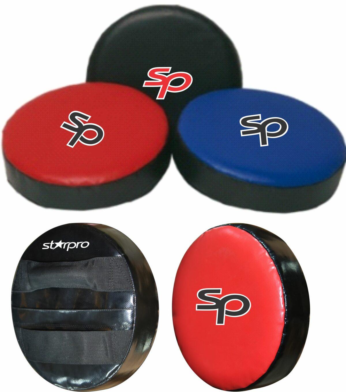 Rond stootkussen (focus mitt) Starpro | zwart, blauw of rood