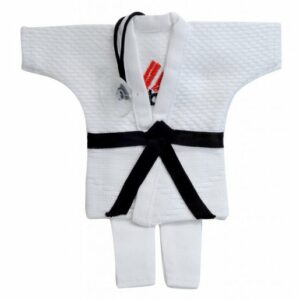 Mini-judopak Adidas | wit