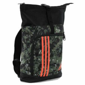 Adidas sporttas en rugzak | zwart-grijs camo