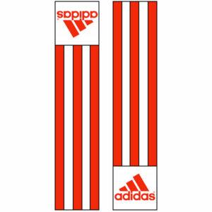 Adidas-schouderlabels voor je judopak | oranje