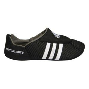 Martial arts Adidas-sloffen | zwart-wit
