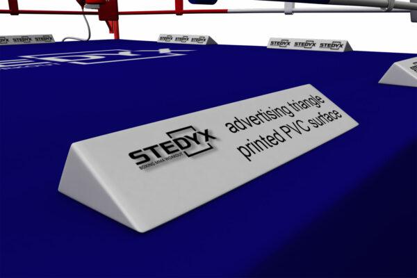 Adverteren in de boksring | Stedyx adverteerbalk | pvc-vinyl