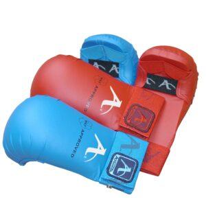 Karate-handschoenen (WKF-approved) Arawaza | blauw