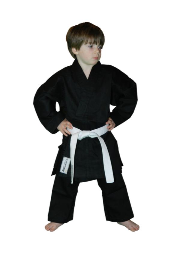 Karatepak voor beginners Arawaza | zwart