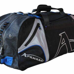 Multifunctionele sporttas & rugzak Arawaza | zwart-blauw