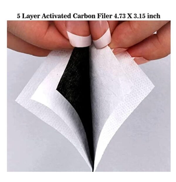 Carbonfilter voor mondmaskers Nihon | 5-laags PM2.5