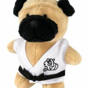 Sleutelhanger Bulldog in gi