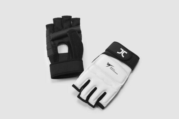 Taekwondo-handbeschermers (handschoen) JCalicu | WT | wit
