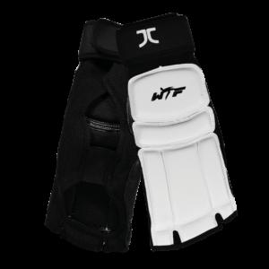 Taekwondo-voetbeschermers JCalicu-Club | WT-approved | wit