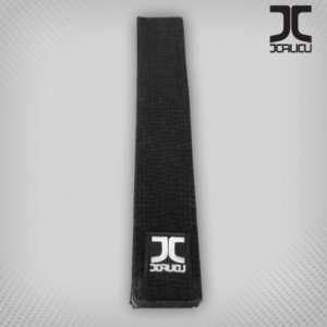 Zwarte taekwondo-band JC | zwart