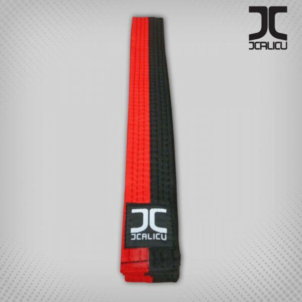 Poom taekwondo-band JCalicu | rood-zwart