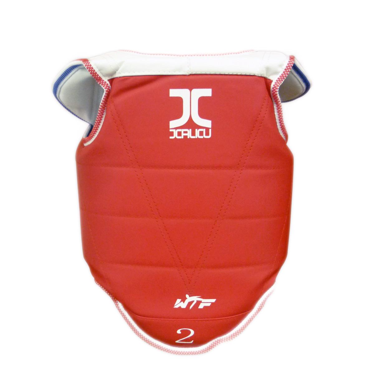 Taekwondo borstbeschermer (omkeerbaar) JCalicu-Club | WT