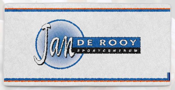 Handdoek Jan de Rooy sportcentrum