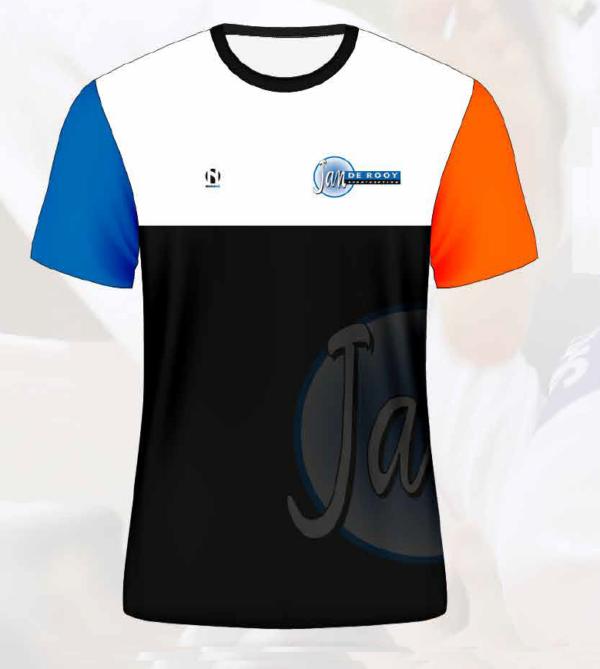 T-shirt vrouwen Jan de Rooy sportcentrum