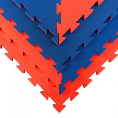 Taekwondo-puzzelmat Tatamix   8-delige octagonset   2 cm