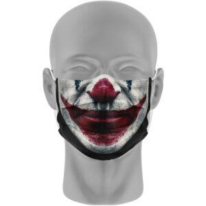 Mondmasker (herbruikbaar) Nihon | clownsgezicht-print