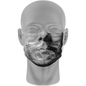 Mondmasker (herbruikbaar) Nihon | ducttape-print | grijs