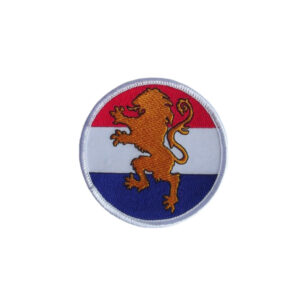 Badge Nederlandse Vlag met Leeuw