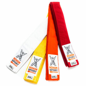 Budobanden voor kinderen (light) Nihon |  oranje | maat 200