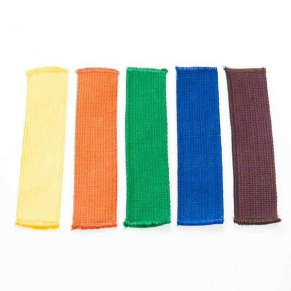 Gekleurde slippen voor budo | kant-en-klaar |diverse kleuren