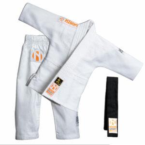 Baby-judopak Nihon Baby Gi | wit