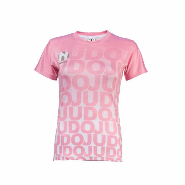 Sneldrogend sportshirt voor vrouwen JUDO Nihon | roze