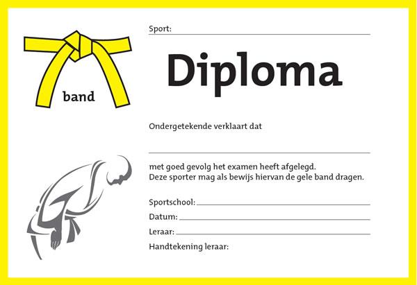 Diploma Geel
