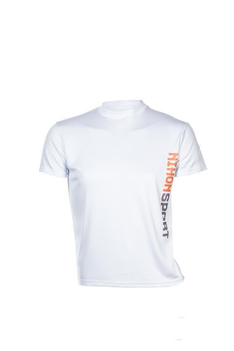 Sneldrogend trainingsshirt/ondershirt voor mannen Nihon  wit