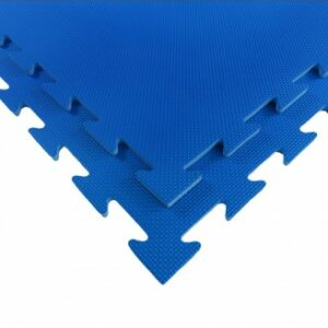 Puzzelmat fitness of boksringen Tatamix | 1 cm | blauw R10S
