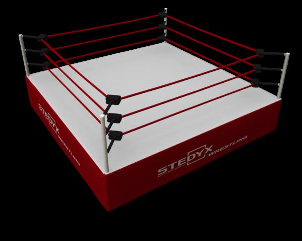 Wedstrijdring voor worstelaars Stedyx | WWE
