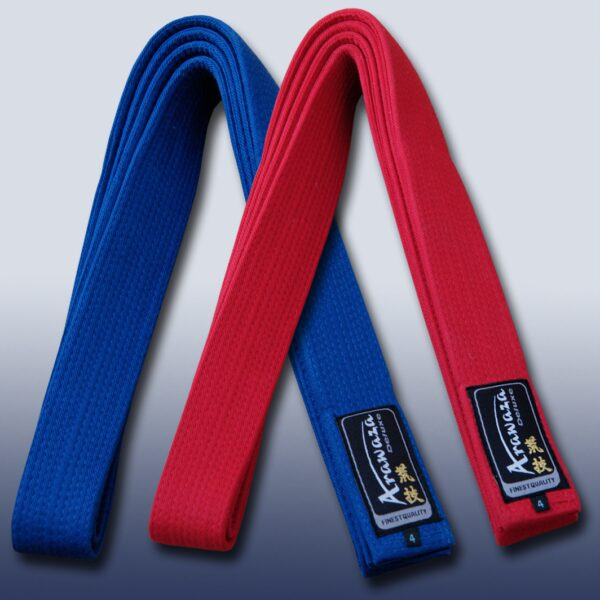 Karate-band voor kata (competitie) Arawaza | rood & blauw