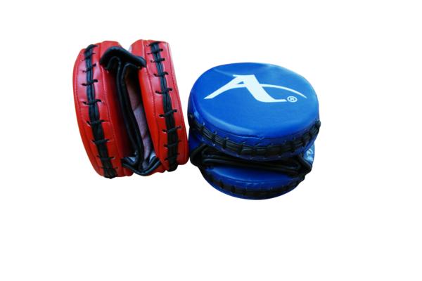 Karate-focushandschoen rond (precisie-mitt) Arawaza | rood