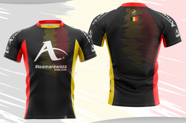 T-shirt Arawaza | dry-fit | #teamArawaza Belgium