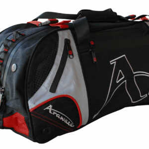 Multifunctionele sporttas & rugzak Arawaza | zwart-rood