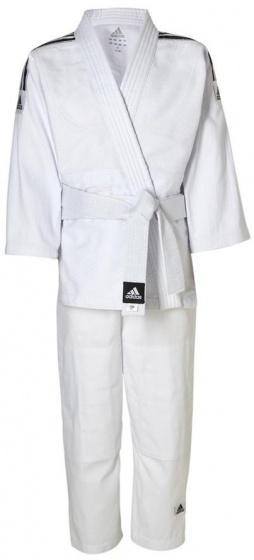 Judopak Adidas voor beginners en kinderen   J350   wit