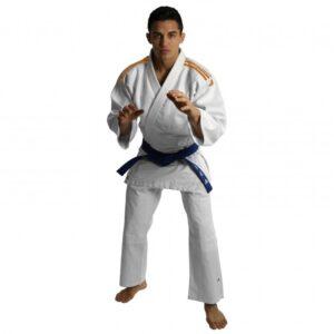 Judopak Adidas voor beginners & kinderen | J350 | wit-oranje