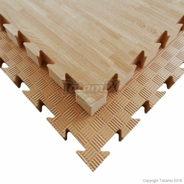 W40P EVA 100X100X4 cm Wood