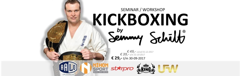 seminar Semmy Schilt UFW AALO