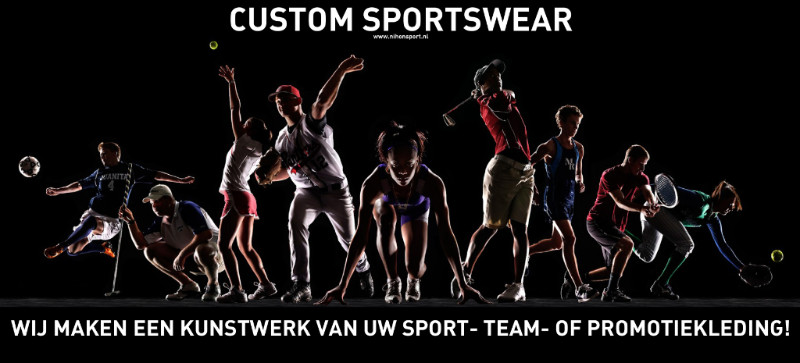 Wij maken een kunstwerk van uw sport-, team- of promotiekleding!
