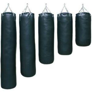 Lege (ongevulde) bokszak | zwart