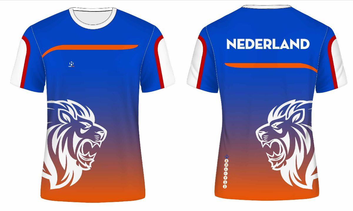 Als eerste unieke NL sportkleding bestellen met jouw naam er op!