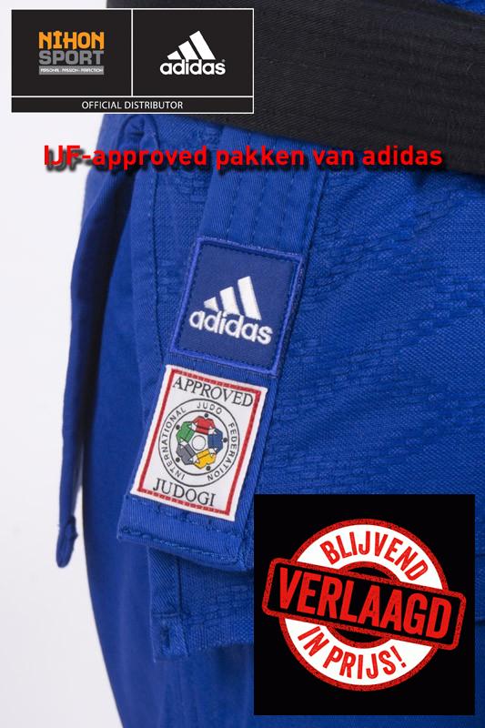 adidas IJF approved judopak judogi adijijf